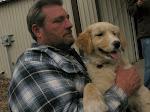 Rick holds Waylon (or Jesse?)