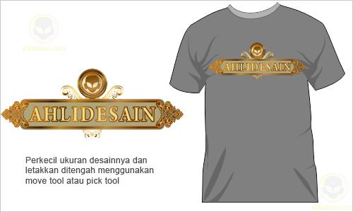 Cara Membuat Desain T-Shirt Kaos dengan Corel Draw » Ahli Desain Jasa ...