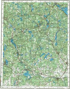 Уменьшенное изображение Карта 200k--o33-04