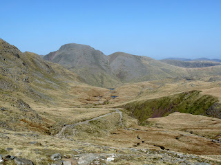 Our path back to Sprinkling Tarn.