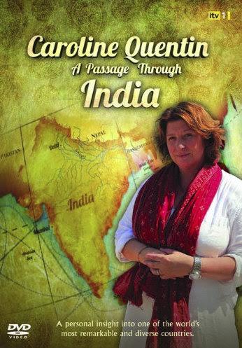 Podró¿ przez Indie / Caroline Quentin a passage through India (2011) PL.TVRip.XviD / Lektor PL