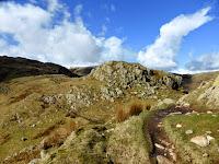 Calf Crag to Gibson Knott ridge