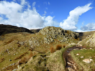 Calf Crag to Gibson Knott ridge