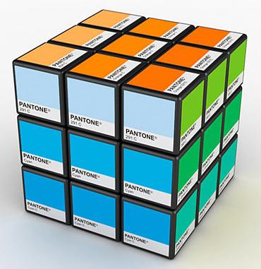 Cubo Mágico Pantone