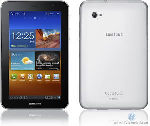 White Galaxy tab 7
