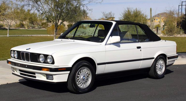 would you pay 42 900 for a brand new 1992 bmw 325i cabrio. Black Bedroom Furniture Sets. Home Design Ideas