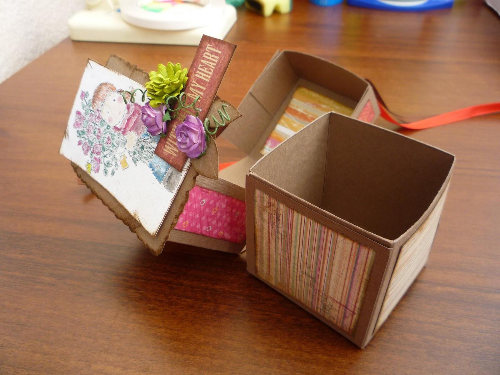 Коробочка с сюрпризом для мамы