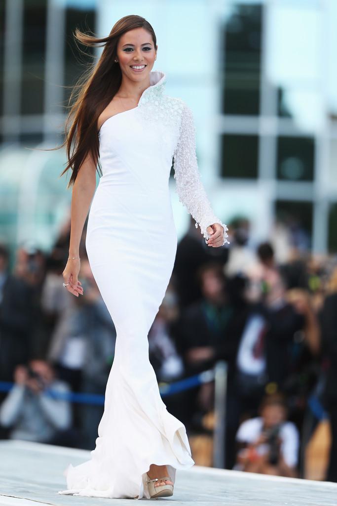 Джессика Мичибата на Amber Lounge Fashion Show на Гран-при Монако 2013