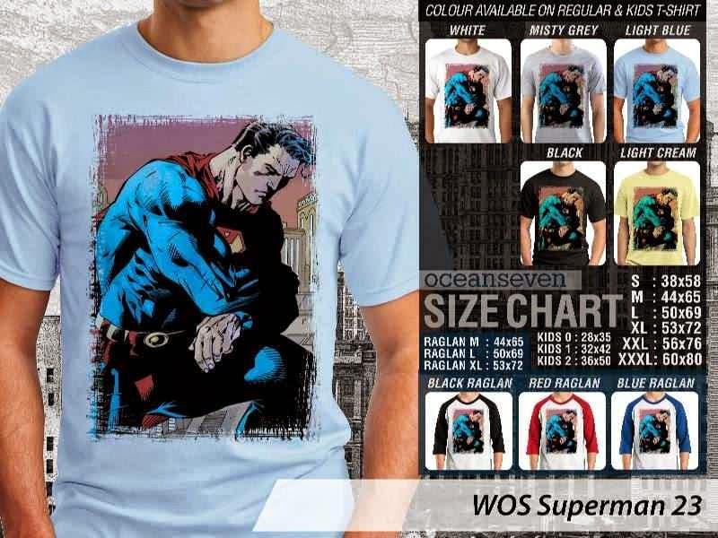 KAOS superman 23 Movie Series distro ocean seven