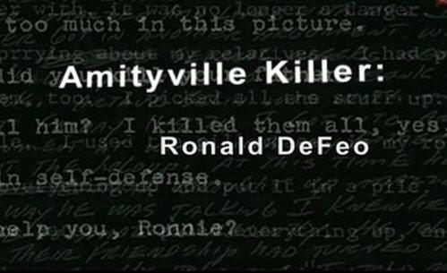 Zab�jca z Amityville / Amityville Killer Ronald Defeo (2006) PL.TVRip.XviD / Lektor PL