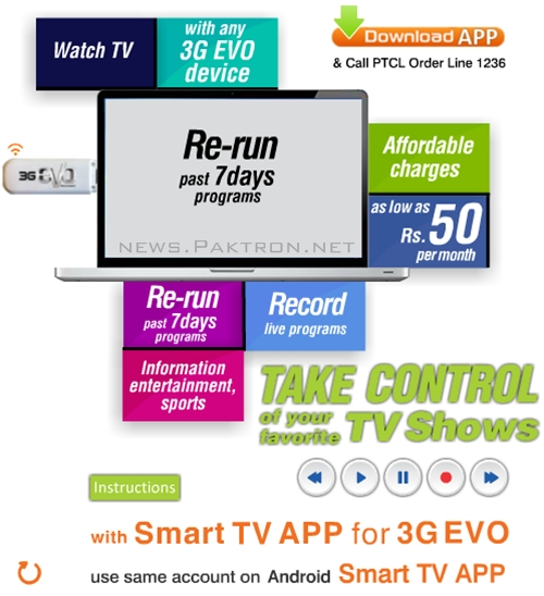 smart tv for evo