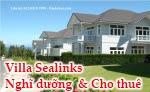 Sea links, Sealinks, Biệt thự, Mũi Né, Phan thiết