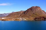 A Tiny Coastal Town and the Greenlandic Coastline