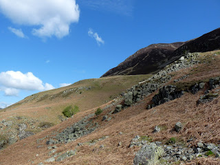 Lower slopes of Grasmoor