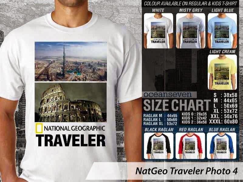 Kaos National Geographic NatGeo Traveler Photo 4 distro ocean seven