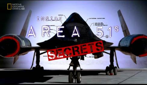 Tajemnice Strefy 51 / Inside Area 51's Secrets (2010) PL.TVRip.XviD / Lektor PL