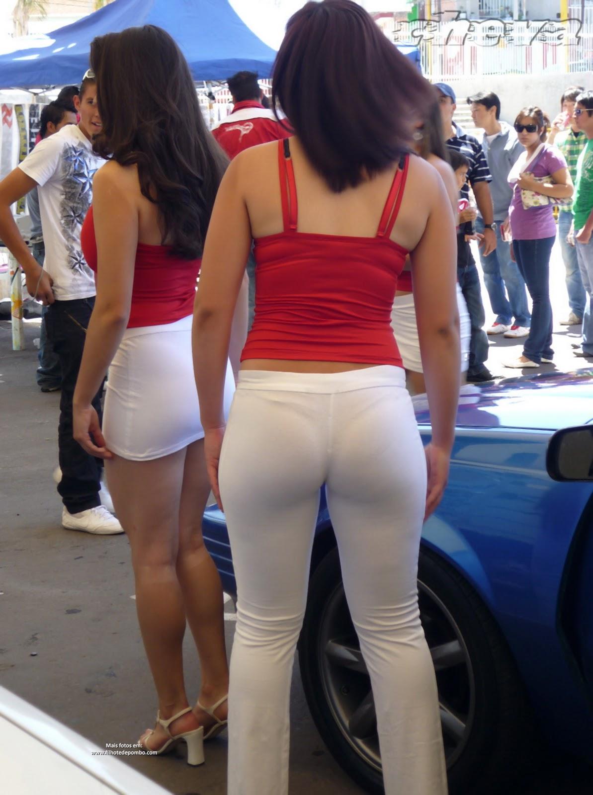 Embaladas a vácuo - Belas mulheres com roupas super apertadas - Parte 24