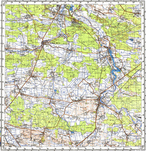 Map 100k--m35-061--(1989)