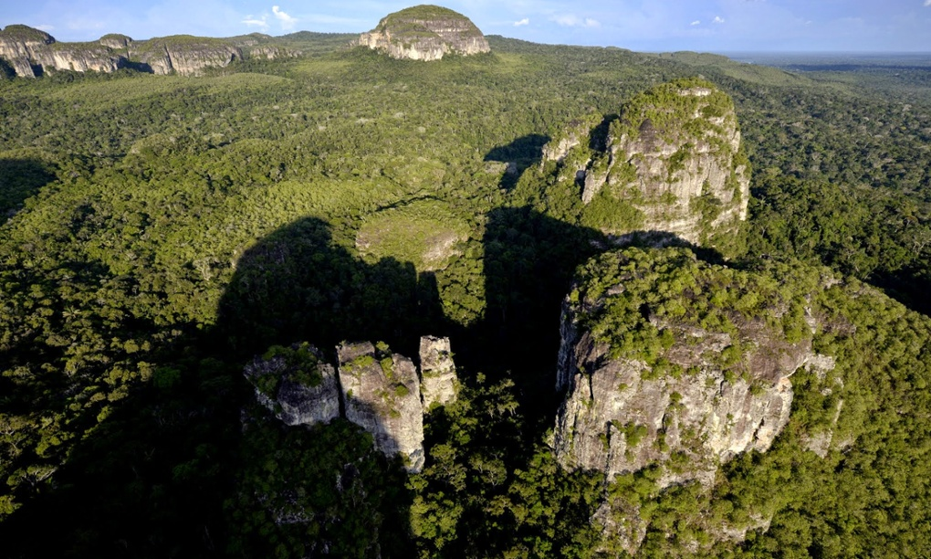 World's most inaccessible art found in the heart of the Colombian jungle