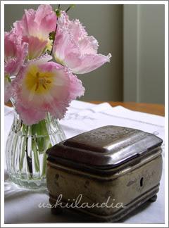 platerowana cukiernica vintage pamiątka