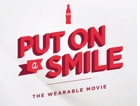 Coca-Cola Just Wants Us To Smile — The Wearable Movie by Ogilvy Mather Starring You