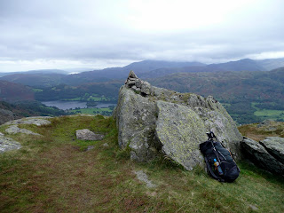 Stone Arthur Summit looking towards Grasmere