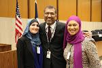 Linda Sarsour, Shahed Amanullah and Tayyibah Taylor