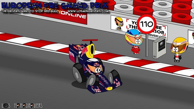 Фернандо Алонсо и Льюис Хэмилтон хотят остановить Себастьяна Феттеля на Гран-при Европы 2011