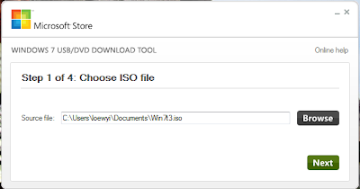 Windows 7 USB / DVD Download Tool Application | Loewyicom