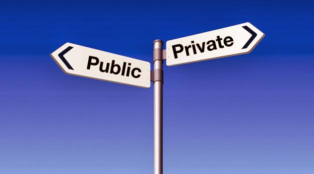 public v private life essay