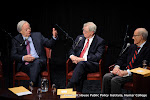Bill Moyers, Walter Mondale and George McGovern