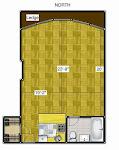The floorplan to my 550sf UWS studio