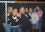 They waited outside that fence, with the temperature in the 40s, hundreds of feet from the busses for hours just waiting for a chance to yell at Dierks...singing his songs along to their stereo