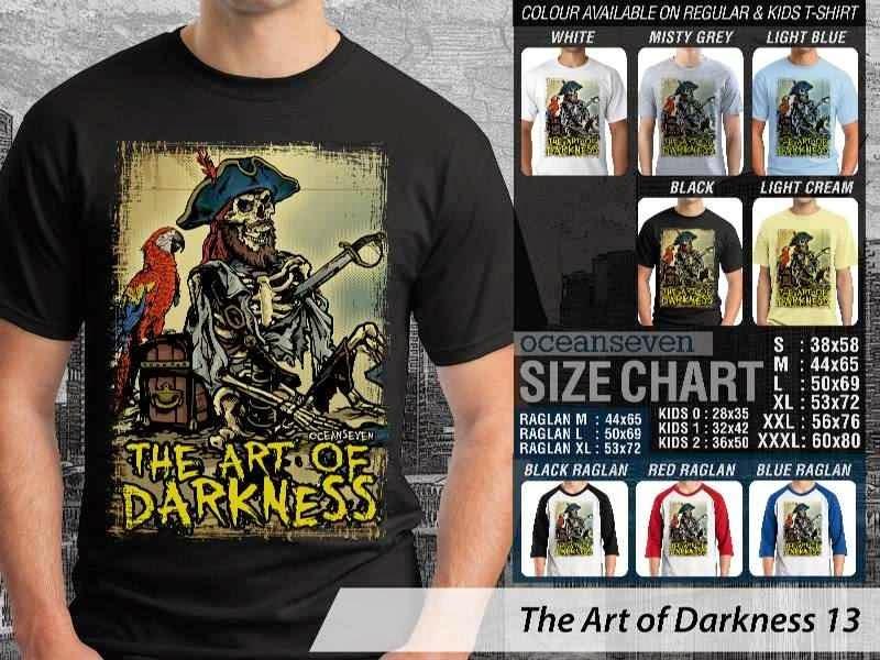 KAOS keren pirate Bajak Laut The Art of Darkness 13 distro ocean seven