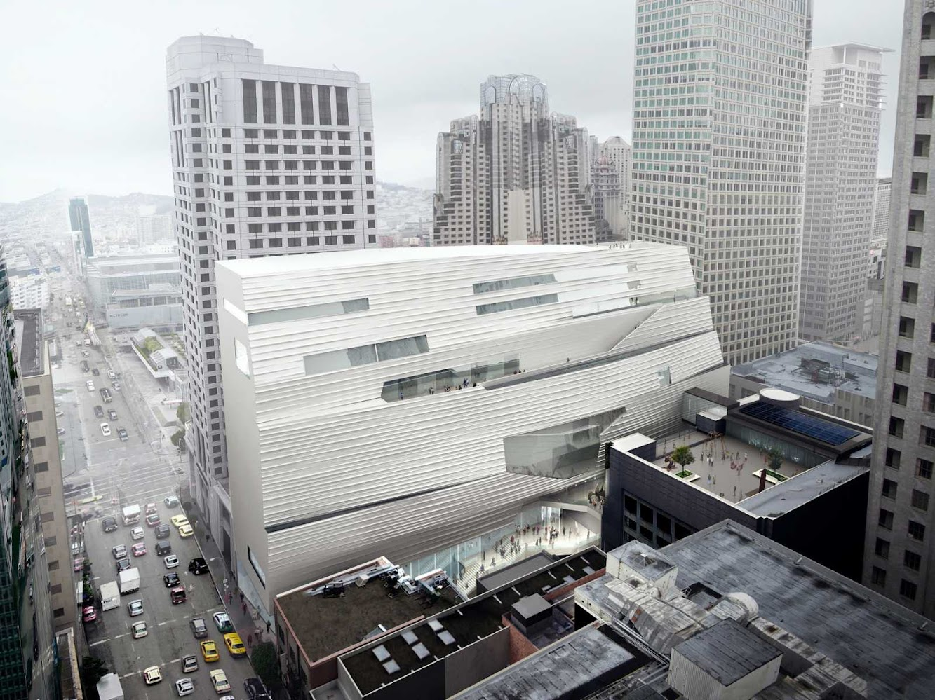 San Francisco, California, Stati Uniti: Sfmoma Expansion by SnØHETTA