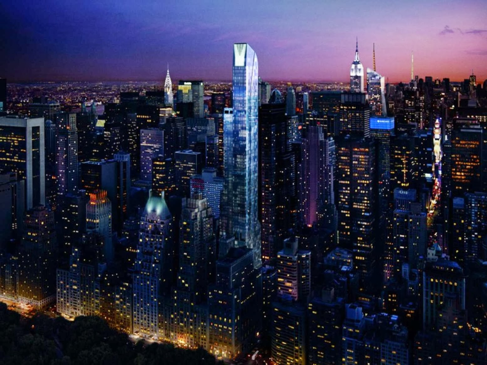 New York, Stati Uniti: [ONE57 BY CHRISTIAN DE PORTZAMPARC]