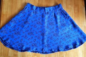 Blue Hollyburn Skirt