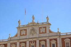 Fachada principal del Palacio de Aranjuez