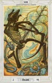 знак Скорпиона в картах Таро