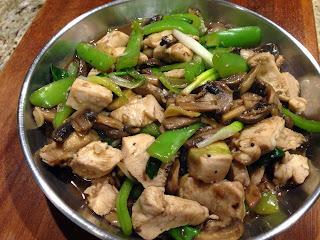 Mushrooms & Chicken
