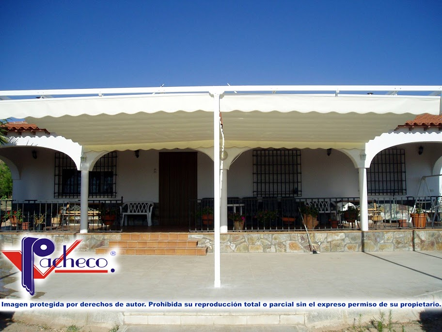Sistemas de toldos para patio o jard n en anna valencia for Toldos impermeables para patios