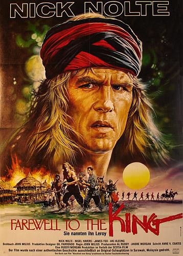 Po¿egnanie z królem / Farewell to the King (1989) PL.TVRip.XviD / Lektor PL