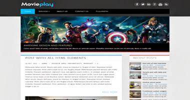 MoviePlay WP Theme