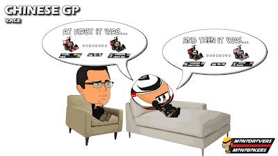 Кими Райкконен рассказывает о своей гонке на Гран-при Китая 2012 Эрику Буйе - Los MiniDrivers