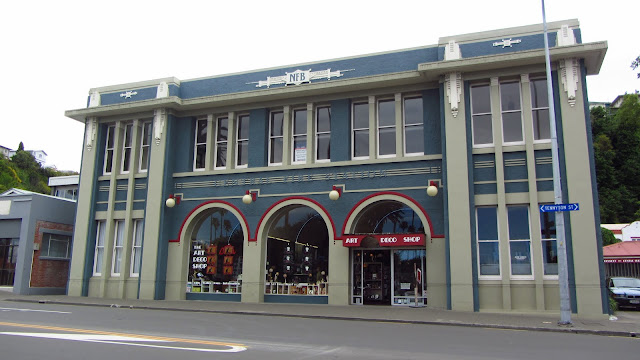 The old Napier Firehouse, which now hosts the Art Deco Trust.