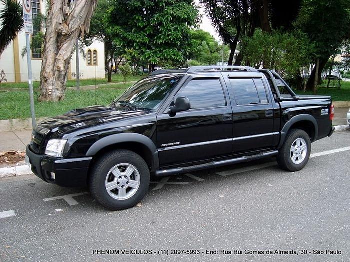 Chevrolet S10 Cabine Dupla 2010 2.4 Flex Advantage preta