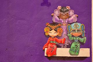Sztuka uliczna na każdym kroku.