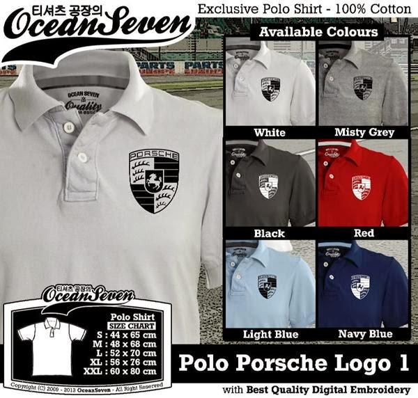 POLO Porsche Logo distro ocean seven