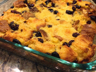 Eggnog Panettone Bread Pudding