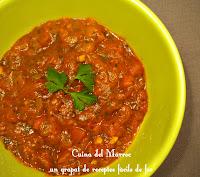 Tcharmila, la salsa de tomàquet marroquina